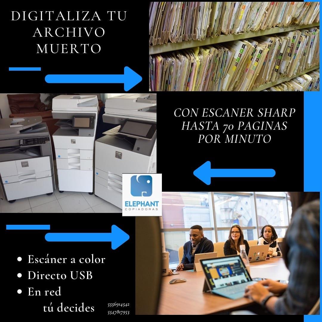 Digitaliza tú información de forma rápida y segura